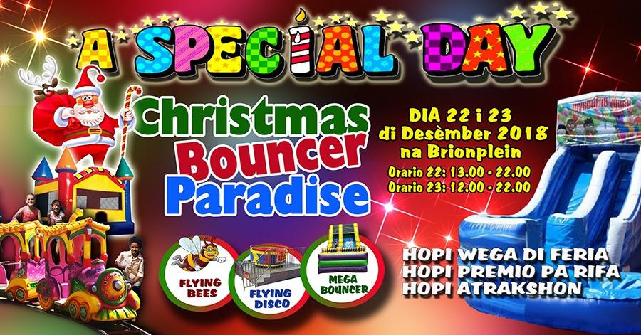 Christmas Bouncer Paradise