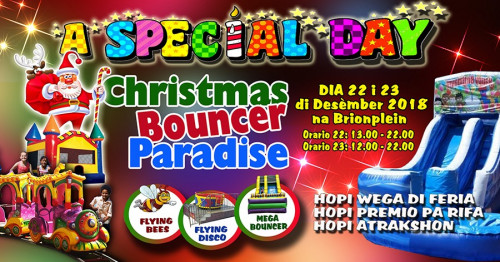 Christmas Bouncer Paradise