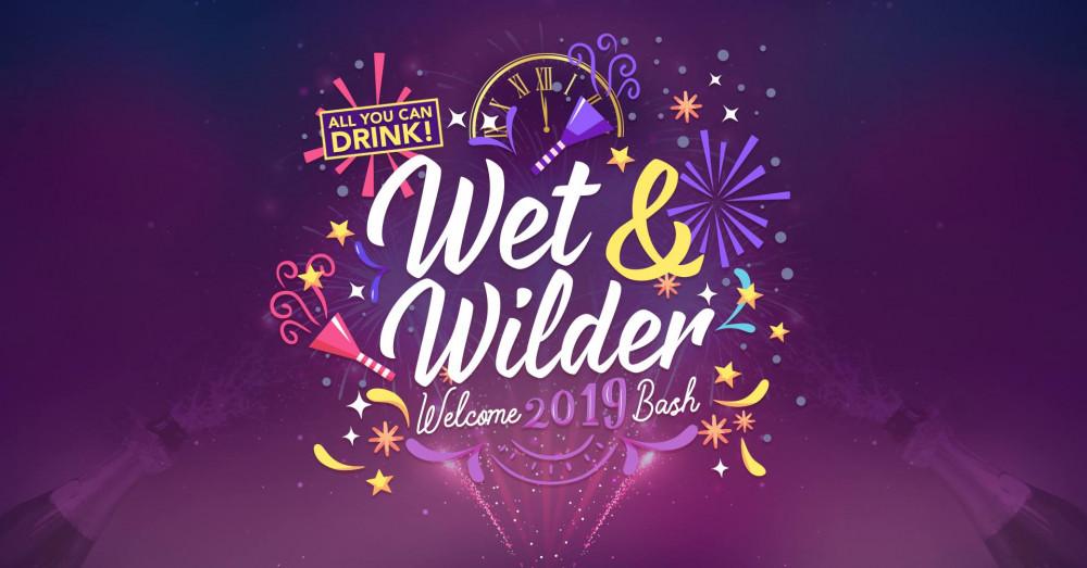 Wet & Wild(er) Welcome 2019 Bash!