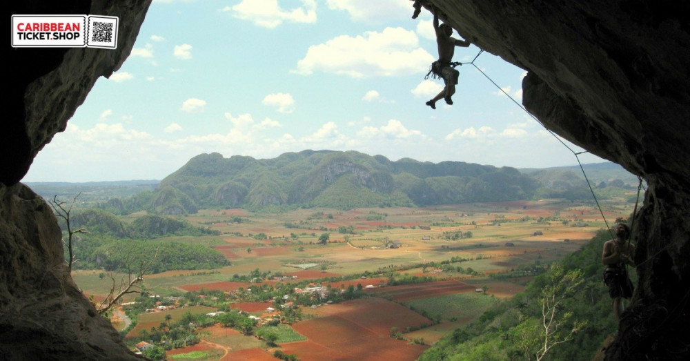 Rock climbing in Cuba