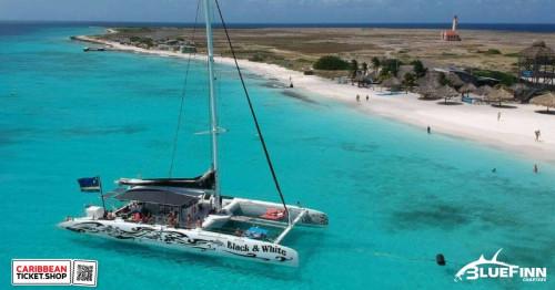 Klein Curaçao by catamaran